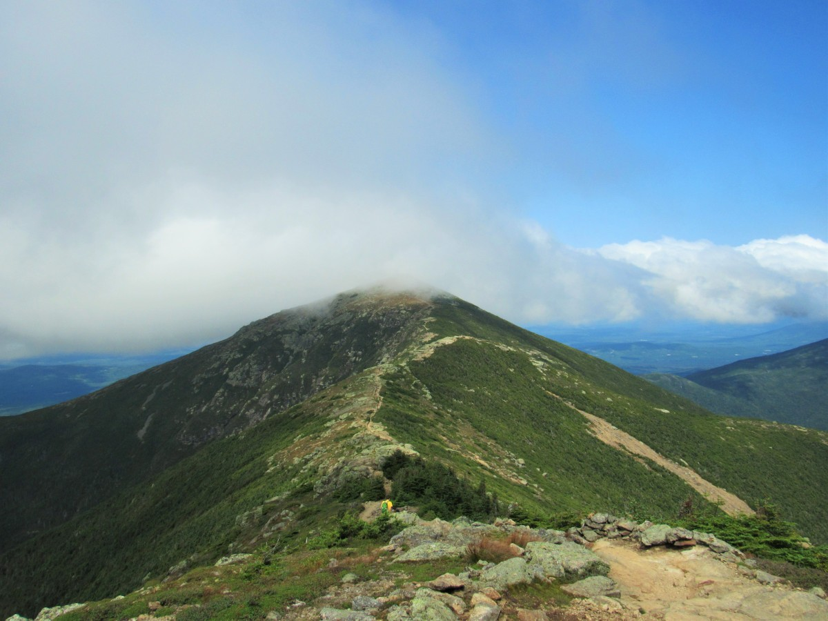 Into the Clouds of Franconia Ridge